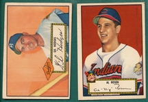 1952 Topps Lot of (94) W/ #36 Hodges, Red